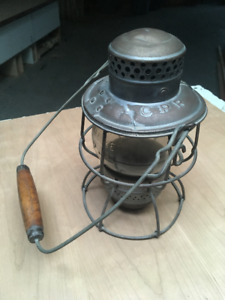 ANTIQUE RAILWAY LANTERN