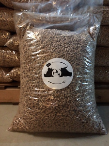 Hardwood Pellets For Pellet Grills / Smokers / BBQ - 40 lb Bag