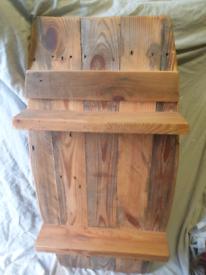 Barrell shaped shelf