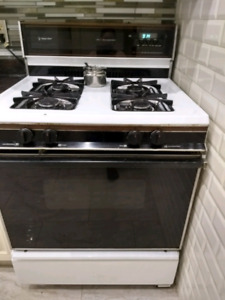 Four burner gas stove with oven for sale