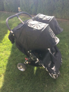Stroller- Baby Jogger City Mini - Double (black)