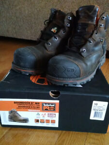 MEN'S SIZE 10 TIMBERLAND PRO WORKBOOTS