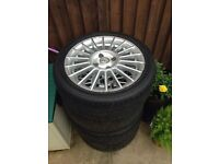 Fox Racing Alloys Peugeot Citroen Ford Wheels And Tyres