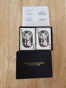Scottish Historical Playing Cards