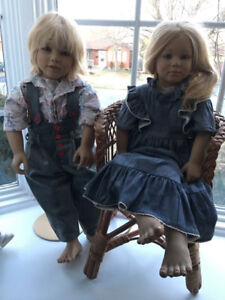 Large Porcelain Dolls - Thickson & Rossland, Whitby