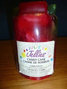 Jellies Candle (Candy Cane)