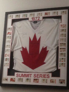 1972 Autographed Team Canada Jersey