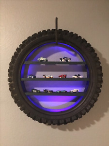 Recycle dirt bike parts for a great little boy's bedroom