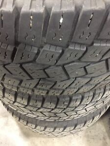 "8 BOLT 24"" CORE RACING RIMS & LT 325/50/24 TOYO A/T TIRES Strathcona County Edmonton Area image 2"