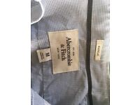2 x As New Abercrombie and Fitch designer Men's shirts (M)