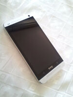 HTC ONE M7 Unlocked Silver Color