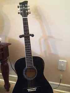 JAYJR Acoustic Guitar with stand and case