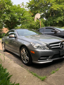 2012 Mercedes Benz E350 Coupe