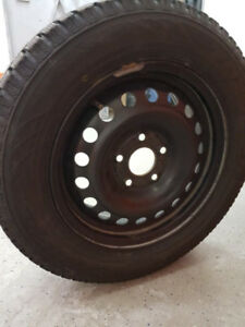 "TOYO 15"" WINTER TIRES ON RIMS OBO"