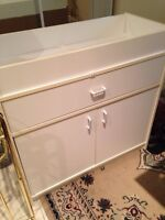 Changing Table Dresser (White)