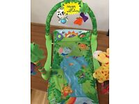 Fisher price rainforest play mat £8