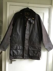 Barbour wax cotton jacket. Size 38 inch chest. Gents / ladies.