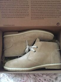 Boys timberland boots size 13 brand new in box