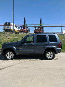2002 Jeep Liberty 4x4 limited edition
