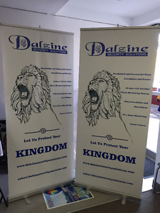 Roll Up Banners stand, Retractable Banner stand,Banner Printing
