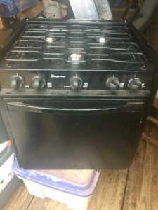 Magic chef 3 burner propane rv /portable range