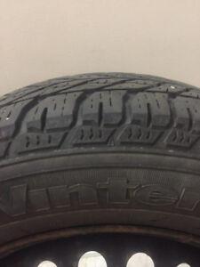 Goodyear Winter Tires & Rims - 90% Tread Left - 195/65/15