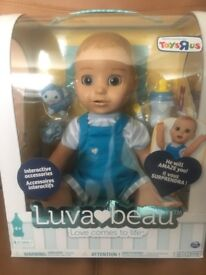 Luvabella Luvabeau boy doll