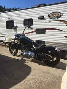 2008 harley rocker c. Price drop! In Kelowna