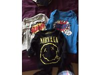Boys 6-9 month tshirts from next