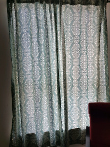 Mint condition curtains