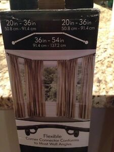 Umbra bay window curtain rod and extension kit Edmonton Edmonton Area image 2