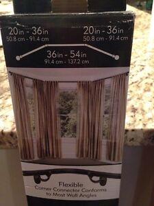 Umbra bay window curtain rod and extension kit Edmonton Edmonton Area image 2