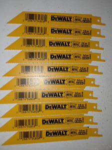 **NEW** DEWALT MATAL RECIPROCATING SAW BLADES