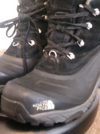 North face walking boots.