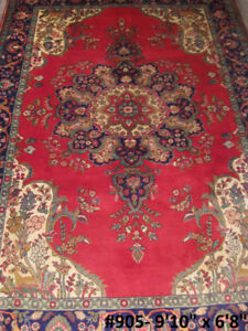 Authentic Persian handwoven wool Area Rug