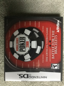 NINTENDO DS WORLD SERIES OF POKER BATTLE FOR THE BRACELETS