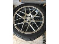 "17"" alloy wheels"