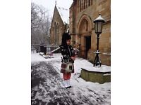 Bagpiper / piper available for your special day