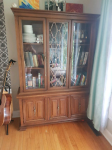 Dining hutch or large book shelf