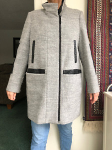VINCE CAMUTO GREY  WINTER COAT