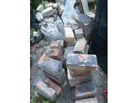 Free bricks and rubble from Edwardian house