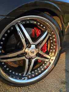 Mercedes CLS/SL lexani 20 inch rims and tires