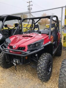 *New* 2018 Canam Commander 800XT Includes PDI & Freight