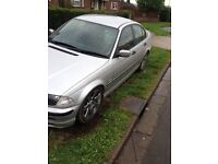 Bmw e46 318 saloon with 325 engine conversion track drift car