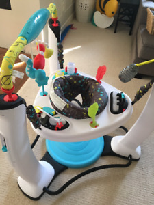 Jam Session Jump and Learn Exersaucer and Bouncer