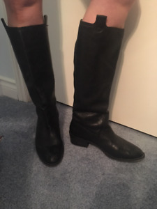 Leather Boots Size 9.5