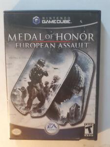 Jeu, Nintendo, Gamecube, Medal of Honor, Europe an Assault