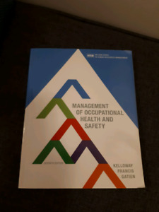 Management of Occupational Healtg and Safety (Kelloway, 7th ed)
