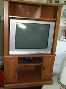 Corner TV Unit (With TV if you want it)