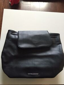 Victoria's Secret black leather backpack London Ontario image 1